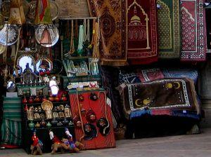 Bazar w Tunisie
